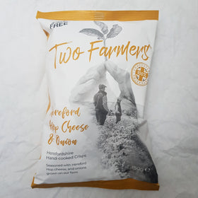 Cheese & Onion Crisps in Compostable Bag 150g