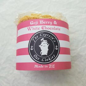 Goji Berry and White Chocolate Biscuits 240g