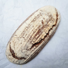 Malted Rye Organic Sourdough Oval 400g