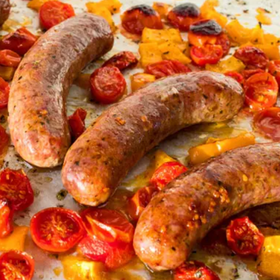 Organic Pork, Fennel and Smoked Paprika Sausages x 4