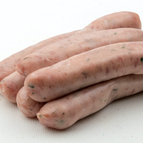 Organic Pork Chipolata Sausages x 6