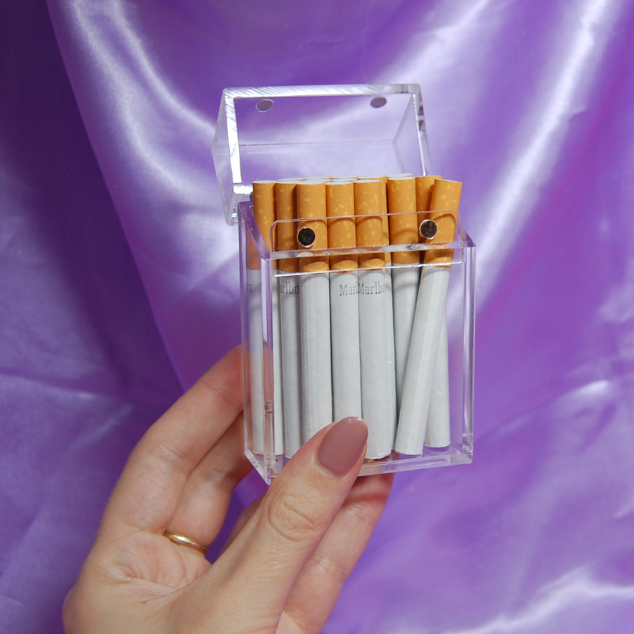 Cigarette Box- Clear