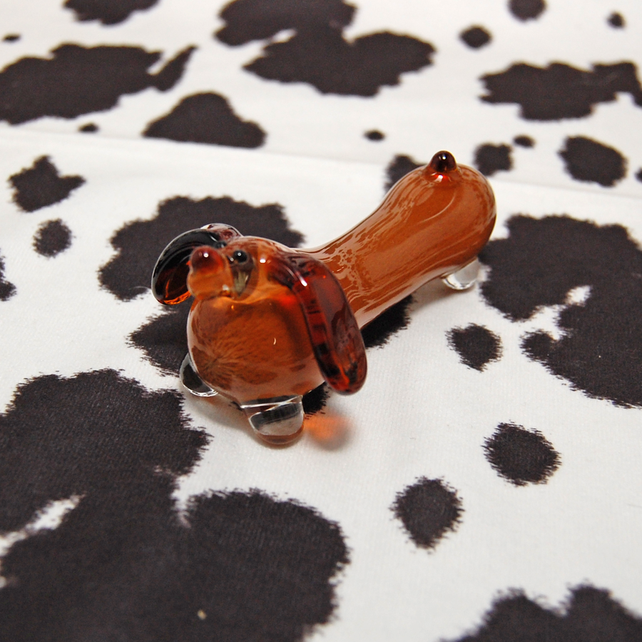 Dachshund Pipe- BLUE