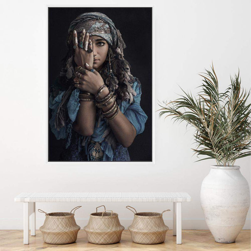 Moroccan Gypsy Canvas Art Print No.1