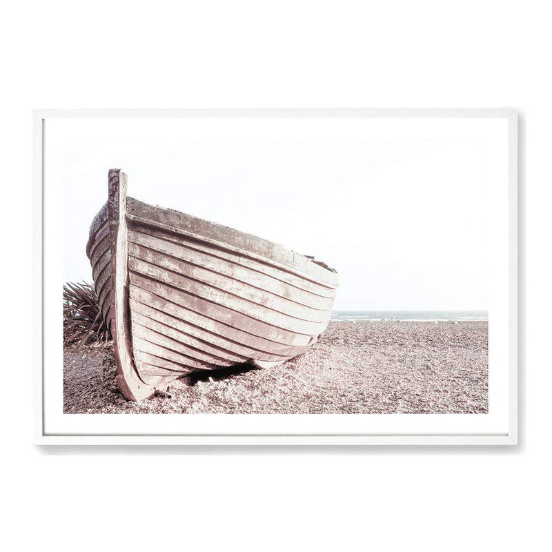 Boat On The Beach Art Print No.1