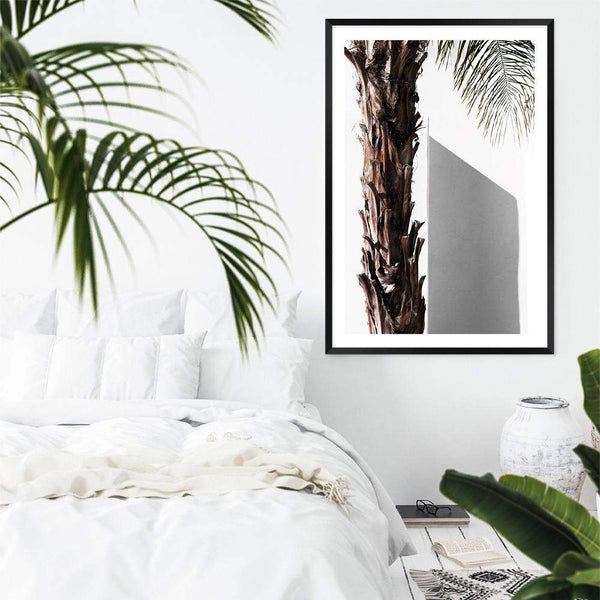 Shaded Palm Tree Art Print No.1