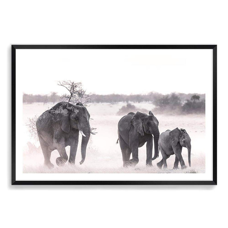 Elephants Art Print No.1