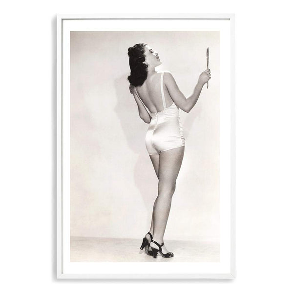 The Vintage Bathing Suit Photographic Wall Art Print or Poster By The Paper Tree.