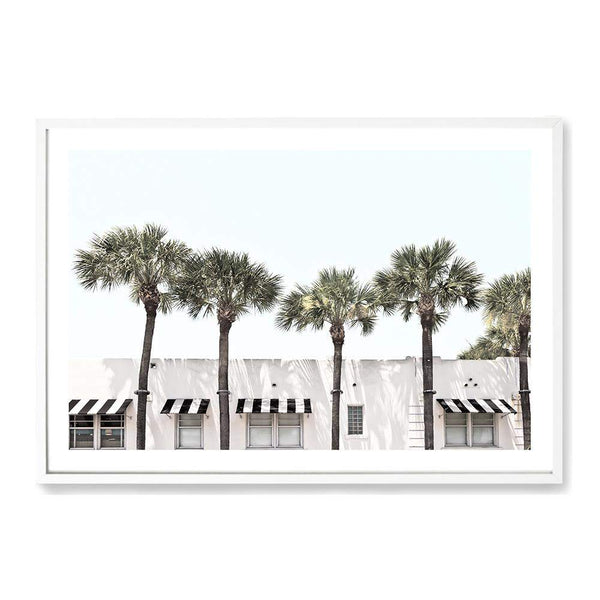 Palms On The Strip Photographic Wall Art Print or Poster By The Paper Tree.