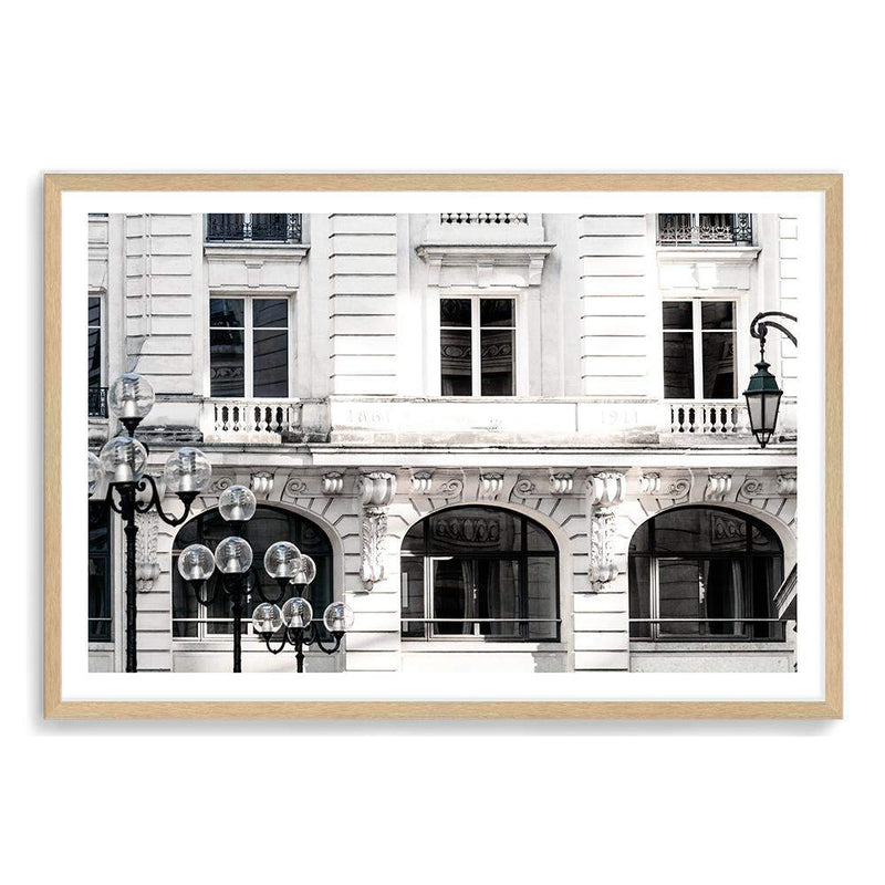 The French Terrace Art Print No.1