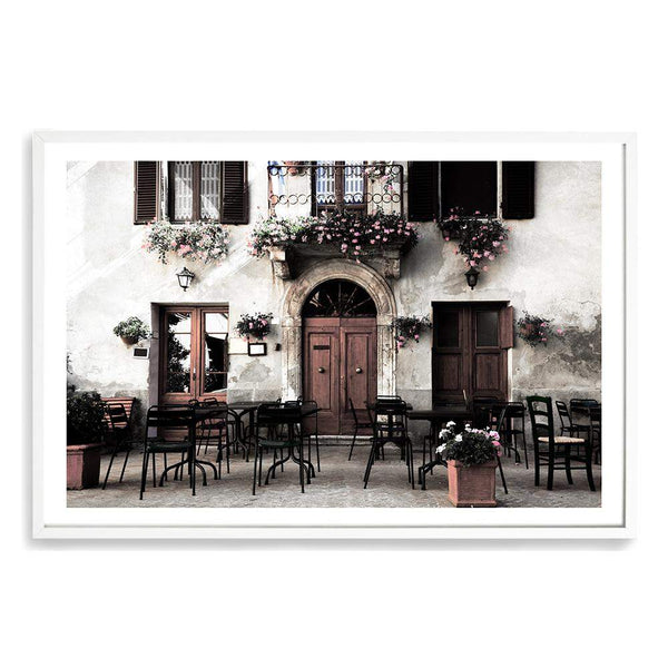 The Italian Cafe Art Print No.1