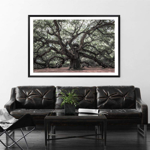 The Oak Tree Photographic Wall Art Print or Poster By The Paper Tree.