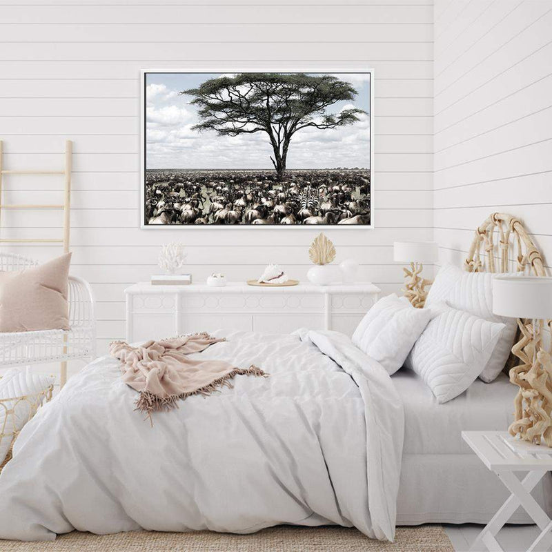 Plains Of Africa Photographic Wall Art Print or Poster By The Paper Tree.