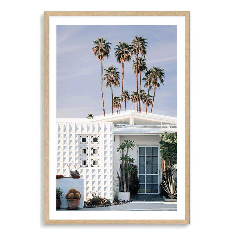 The Palm Springs Property Art Print No.1