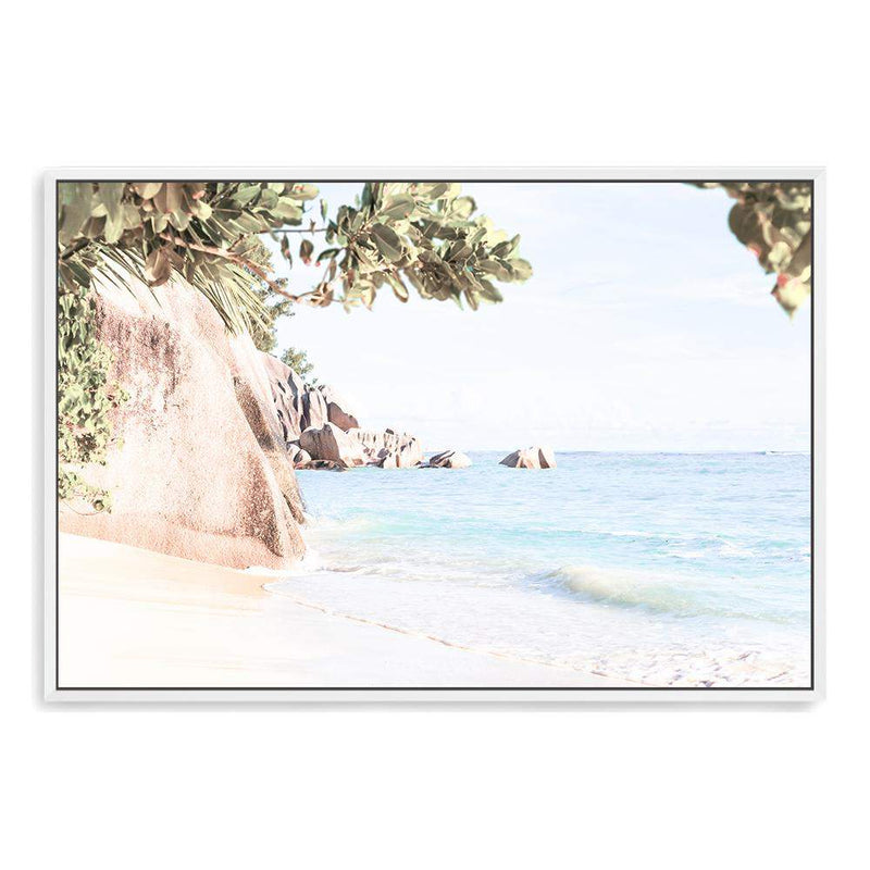 Seaside Oasis Canvas Art Print No.1