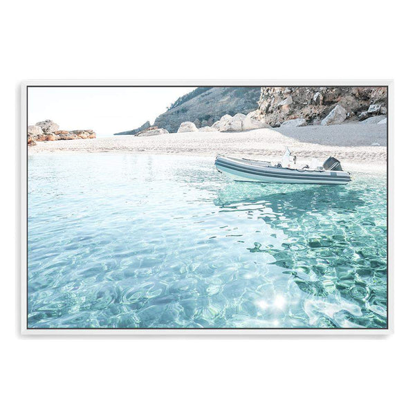 Sea Side Port Canvas Art Print No.1