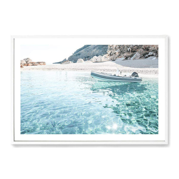 Sea Side Port Art Print No.1