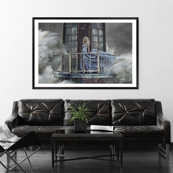 The Lighthouse Beauty Photographic Wall Art Print or Poster By The Paper Tree.