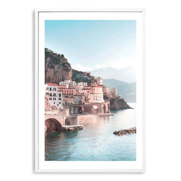 Amalfi City Art Print No.1