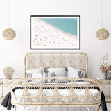 The Beach Photographic Wall Art Print or Poster By The Paper Tree.
