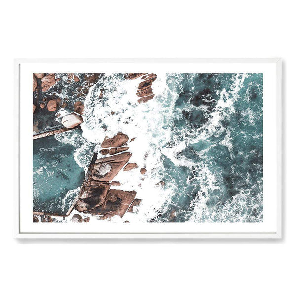 The Ocean Rock Pool Art Print No.1
