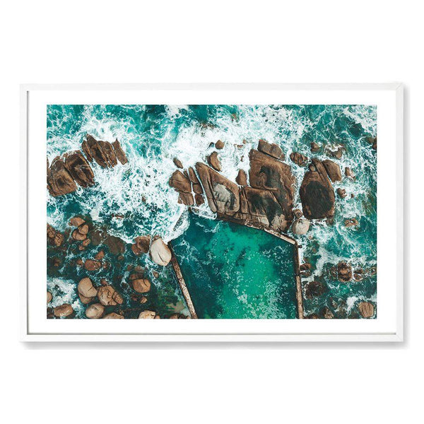 Ocean Rock Pool Art Print No.2