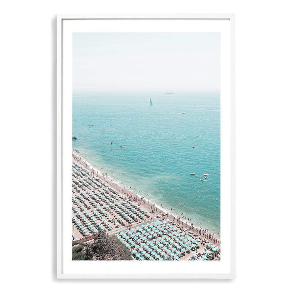 The Amalfi Coastline Art Print No.1