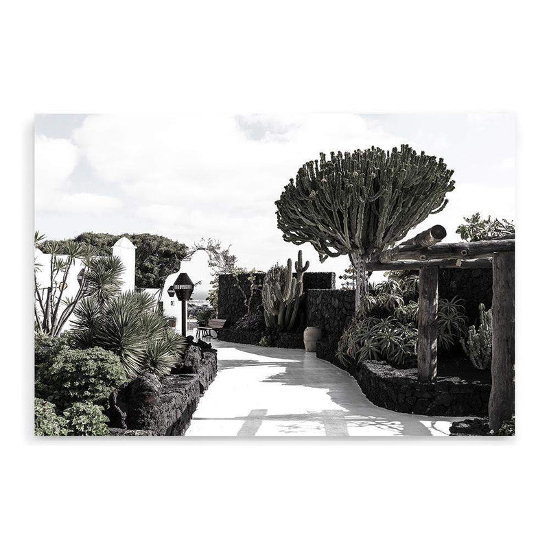 The Garden Path Photographic Wall Art Print or Poster By The Paper Tree.