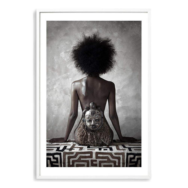 African Beauty Art Print No.1