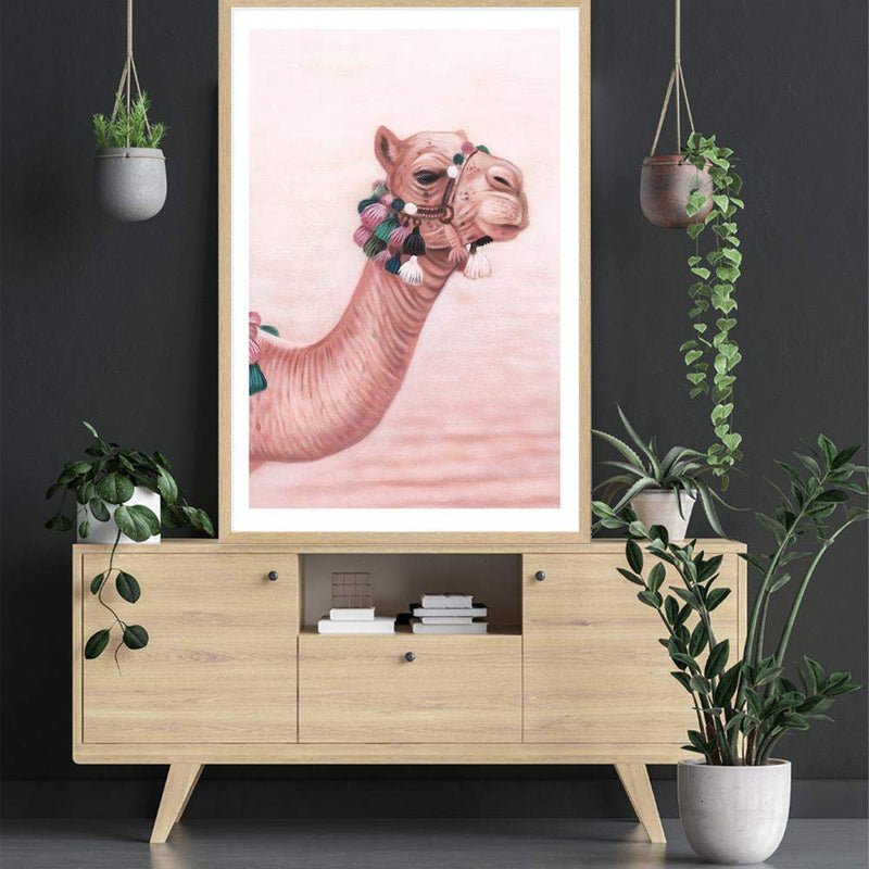 Painted Camel Art Print No.2