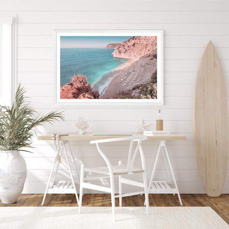 Kaputas Beach Photographic Wall Art Print or Poster By The Paper Tree.