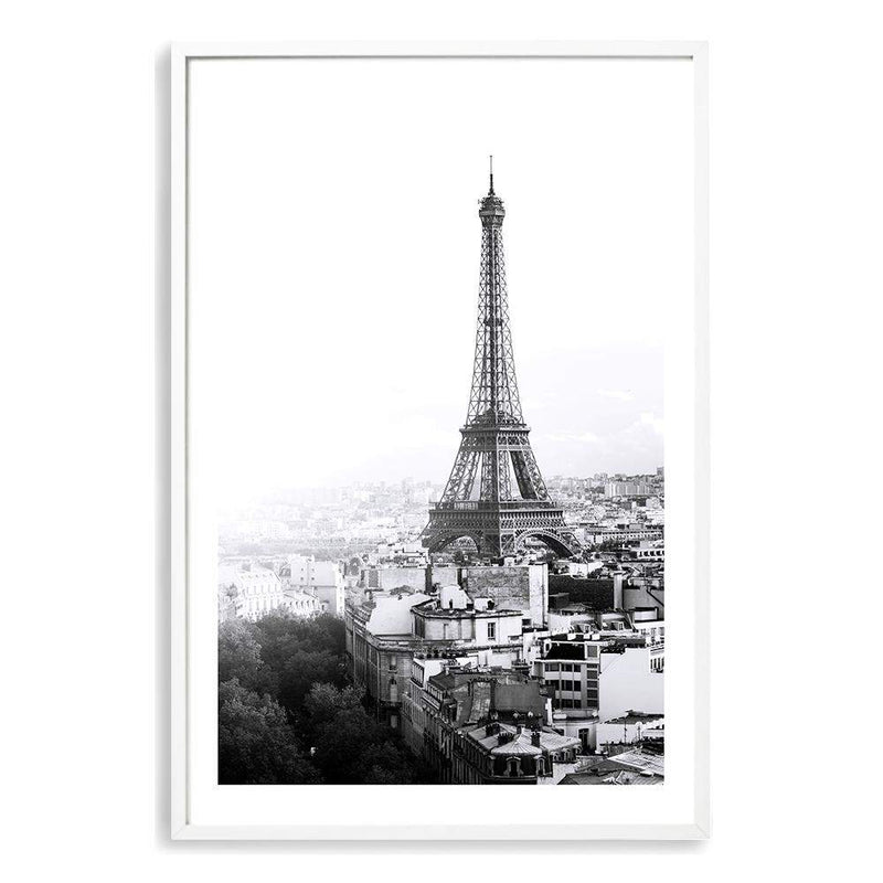The City Of Paris II Photographic Wall Art Print or Poster By The Paper Tree.