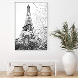Paris in Spring Canvas Art Print No.2