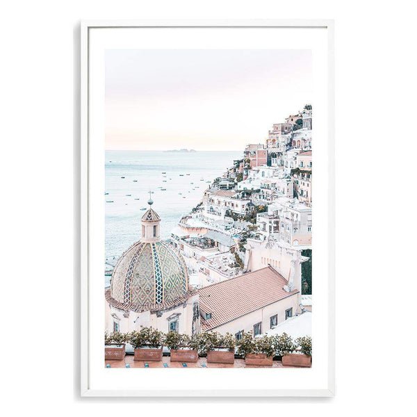 Positano Sunset Art Print No.1