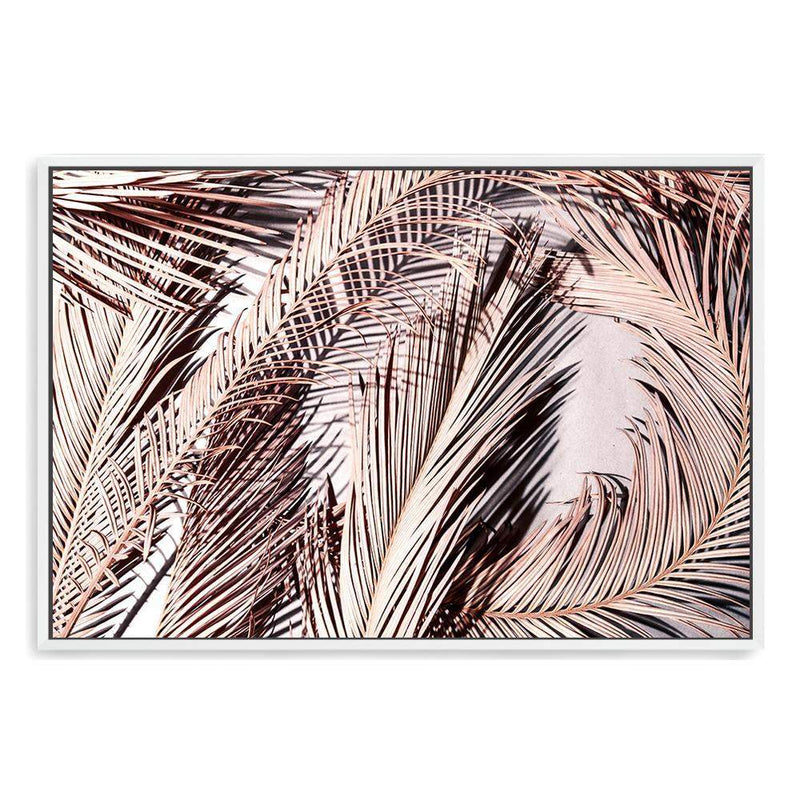 Champagne Palms Photographic Wall Art Print or Poster By The Paper Tree.