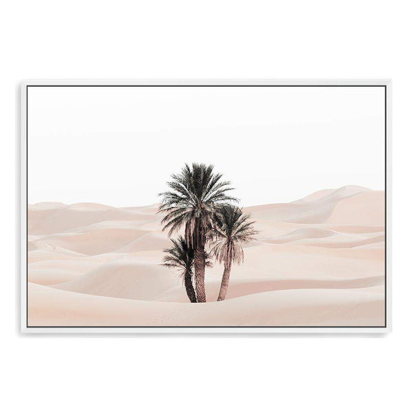 Palms In The Desert Canvas Art Print No.1