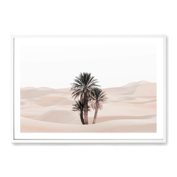 Palms In The Desert Photographic Wall Art Print or Poster By The Paper Tree.