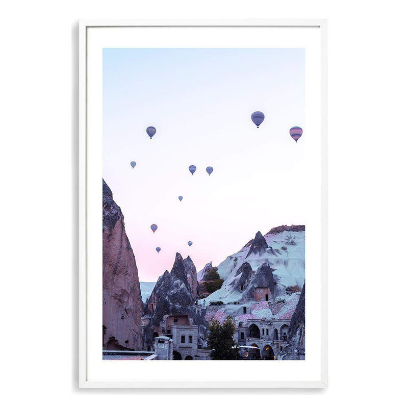 Balloons Over Cappadocia Photographic Wall Art Print or Poster By The Paper Tree.