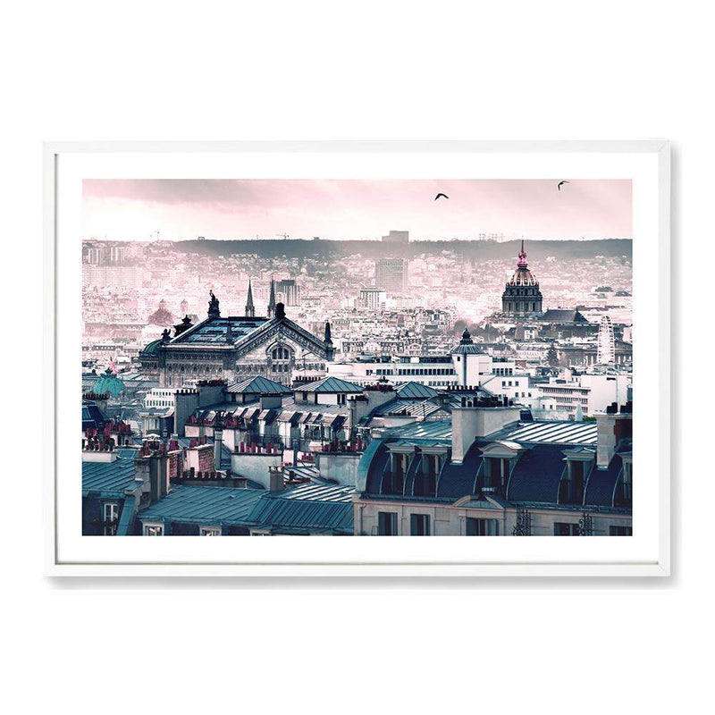 A View Of Paris Art Print No.1