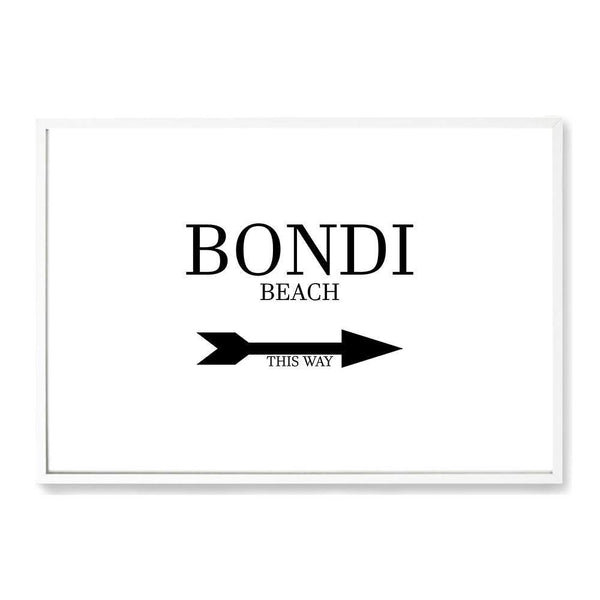 Bondi This Way Art Print No.1