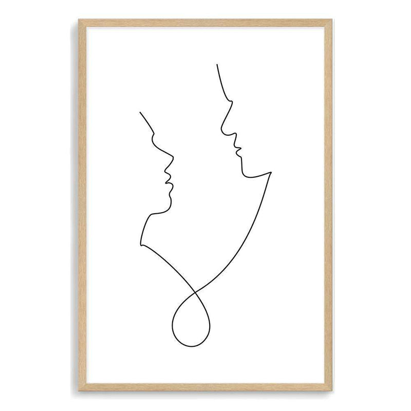 In Love Line Art Print No.1