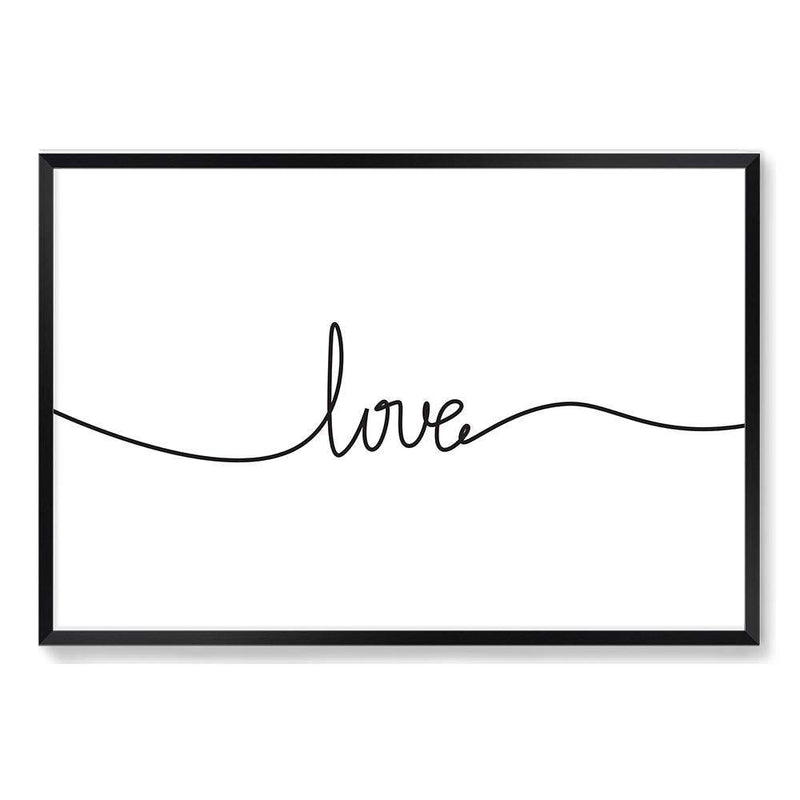 Love Line Art Print No.2