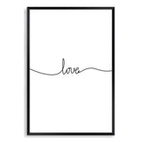 Love Line Art Print No.1