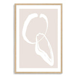 Neutral Shapes Art Print No.2