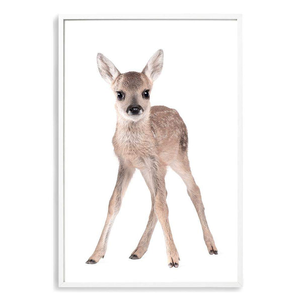 Baby Deer Photographic Wall Art Print or Poster By The Paper Tree.