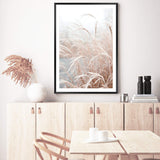 Golden Grass Photographic Wall Art Print or Poster By The Paper Tree.