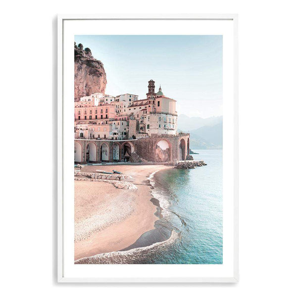 Amalfi Coast Art Print No.1