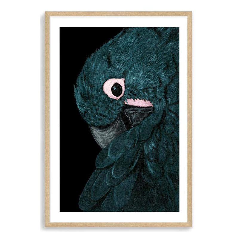 Painted Parrot Art Print No.1