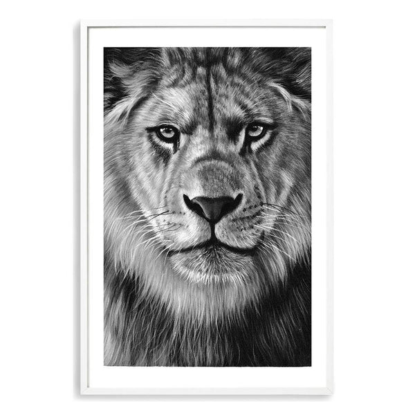 Leo The Lion Art Print No.2