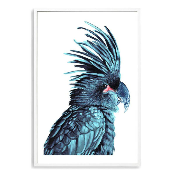 The Palm Cockatoo Photographic Wall Art Print or Poster By The Paper Tree.
